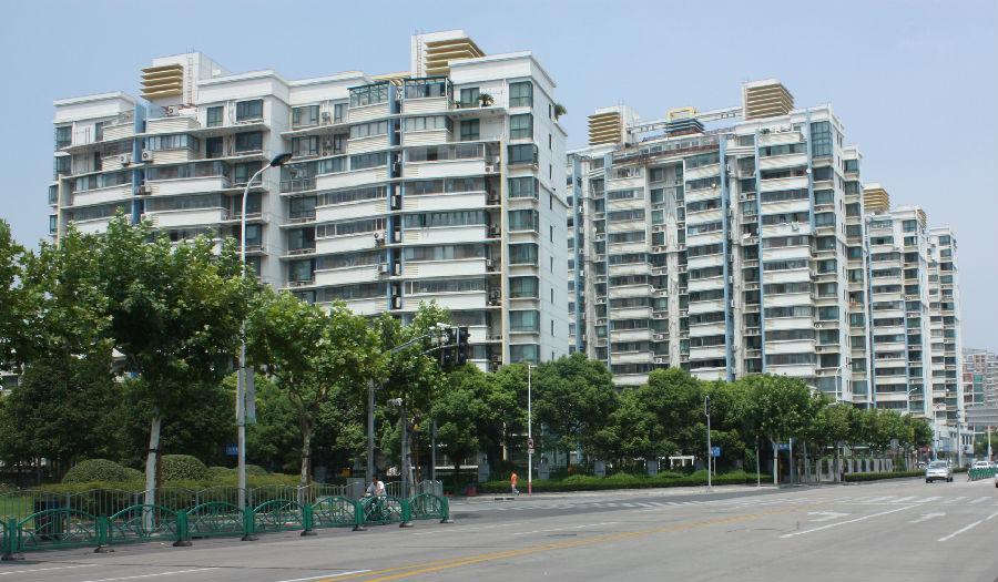 上海浦东花木九街坊环龙花园住宅工程