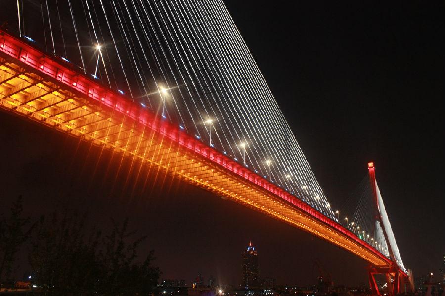 杨浦大桥景观提升